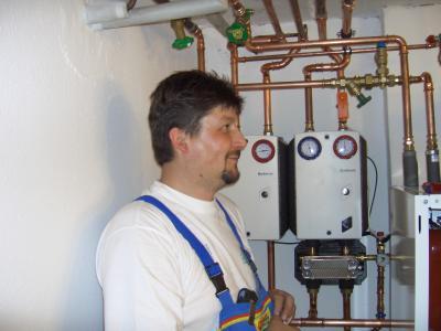 Ölbrennwertanlage mit Systemtrennung