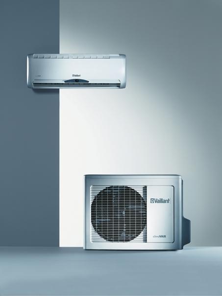 Split-Klimager�t mit getrennter K�hl- und L�ftungseinheit